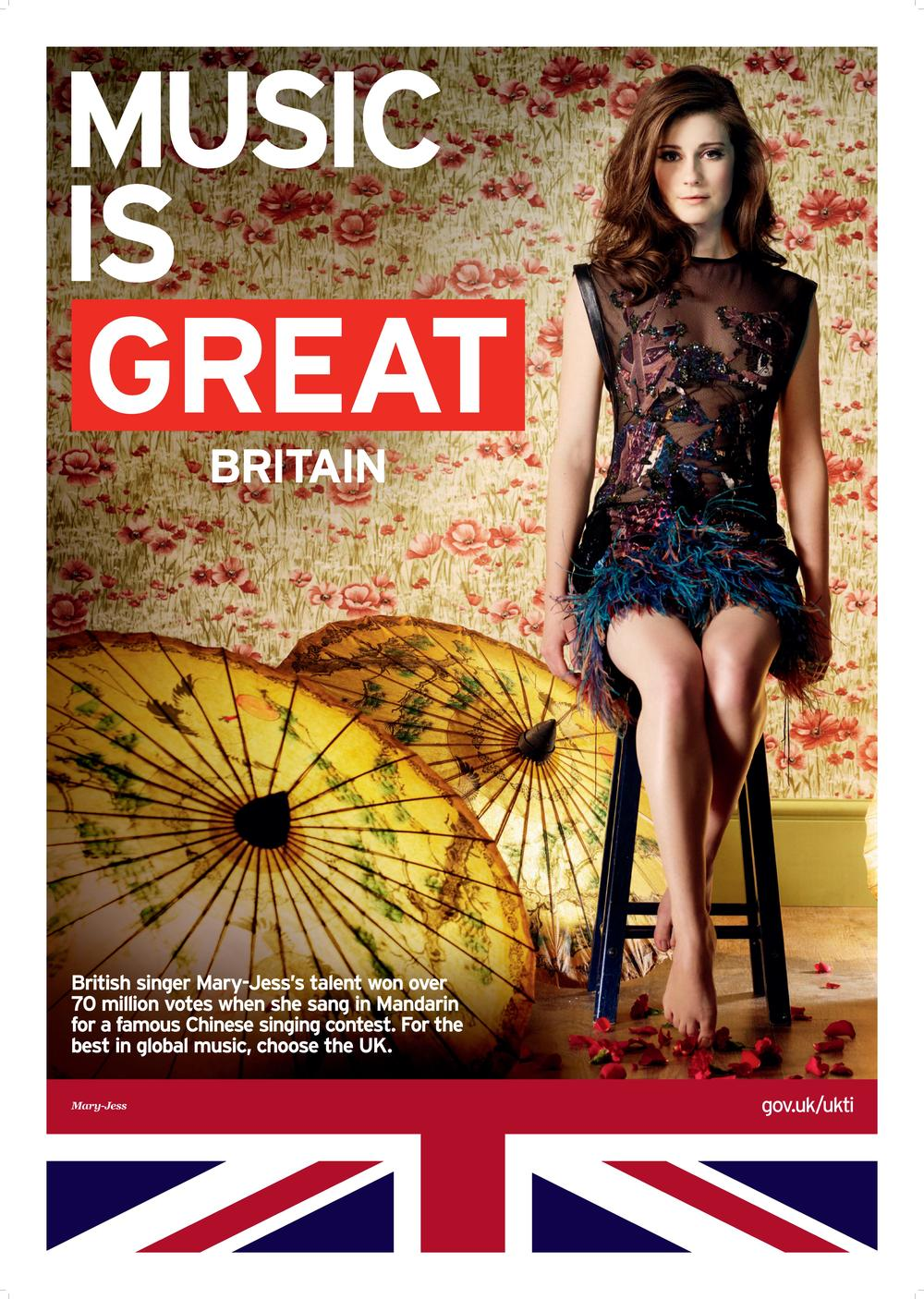 Mary-Jess GREAT Britain Campaign