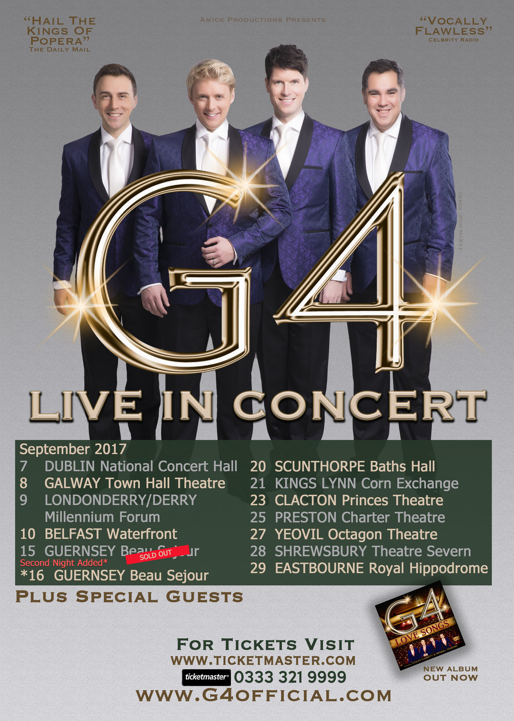 G4 live in concert kings lynn mary jess official website wine and have the chance to meet the guys up close and take photos get their autographs get your tickets here we look forward to seeing you on tour m4hsunfo