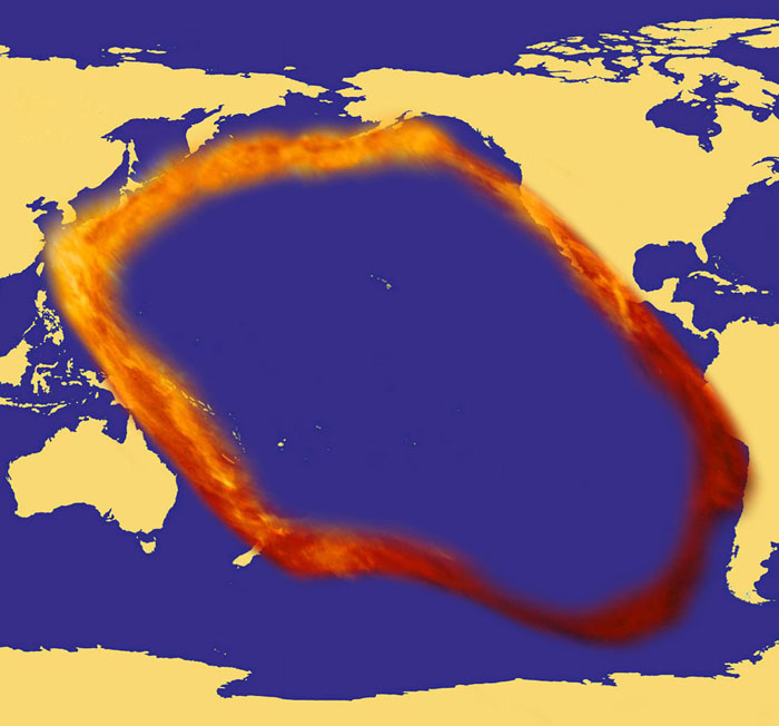 Pacific 'Ring of Fire'