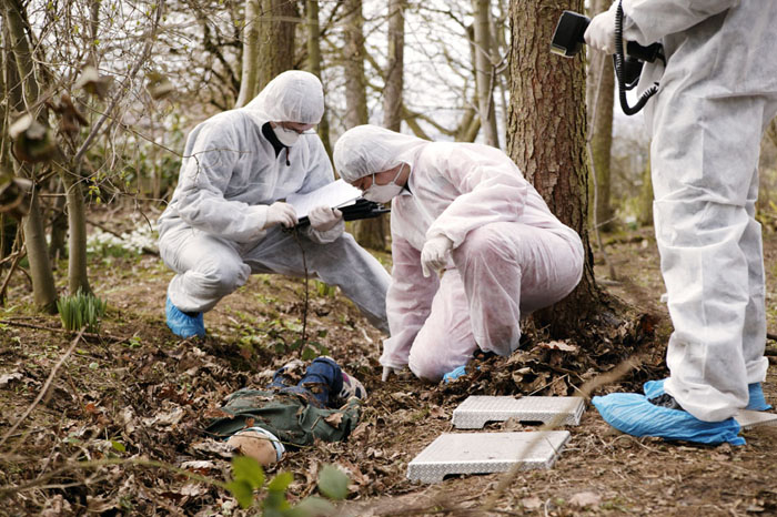 Officers in Forensic Training