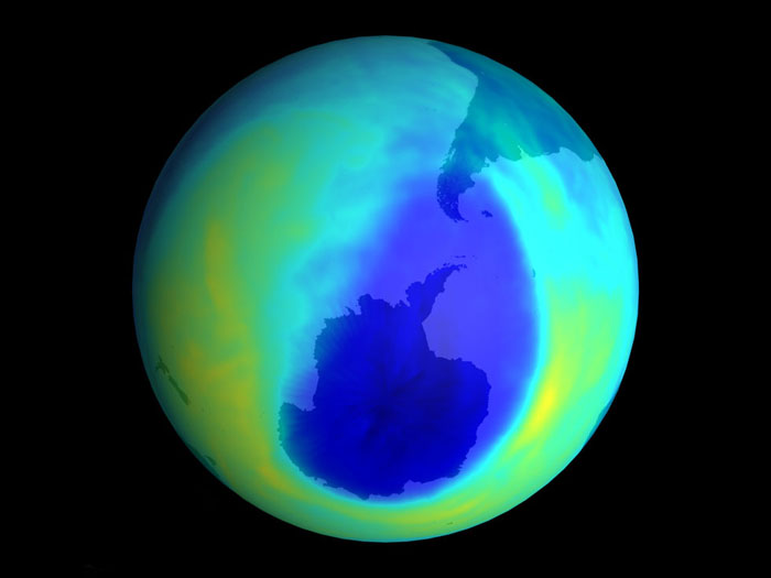 Atmospheric Ozone Levels