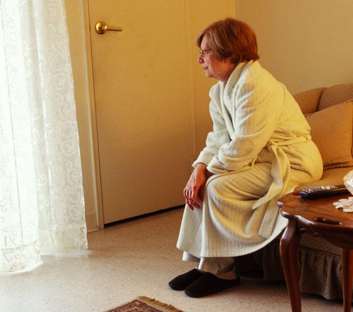 Depressed Senior Citizen