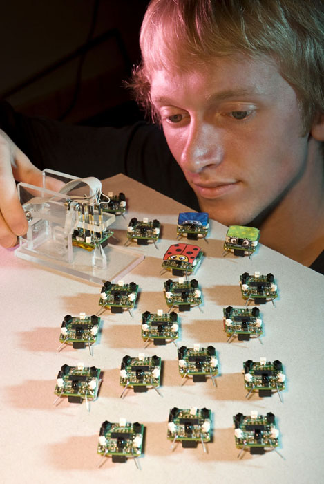 Robot Swarm Research