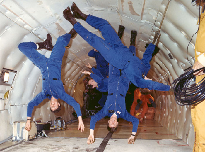 Weightlessness Training