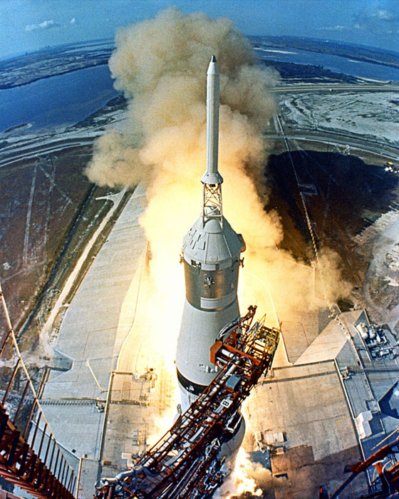 Launch of the Saturn V