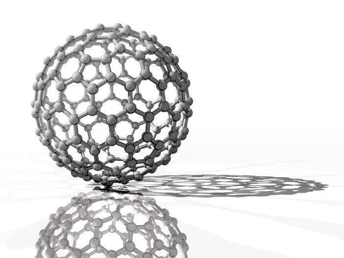Spherical Fullerene Molecule