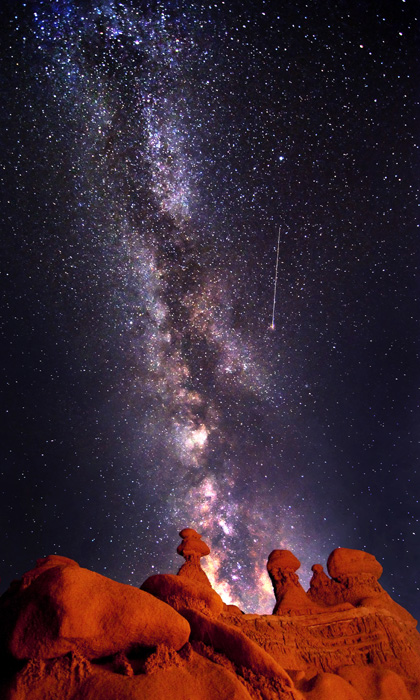Milky Way over Utah