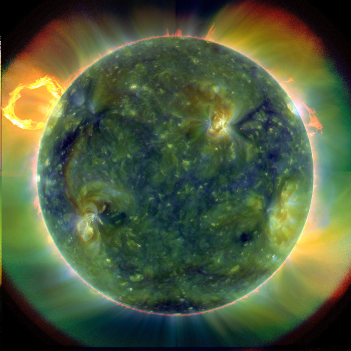 Multiwavelength Sun
