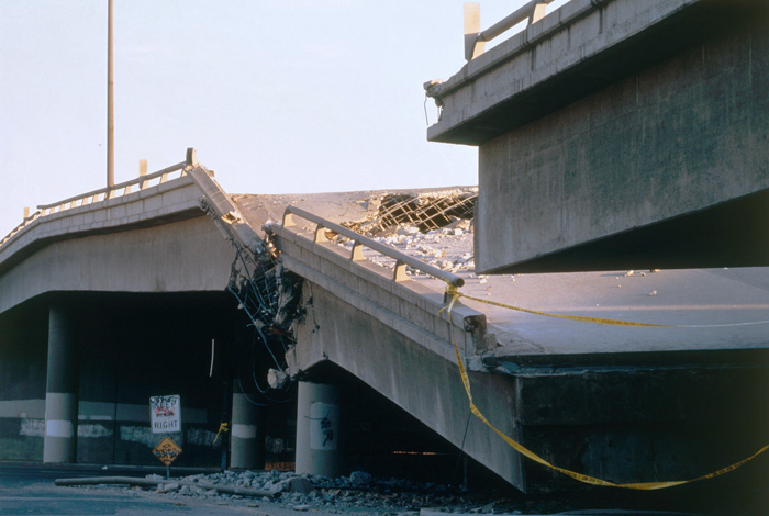 Damaged Overpass, L.A.