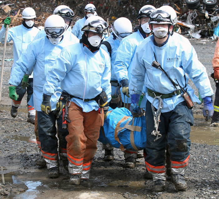 Rescue Workers, Japan, 2011