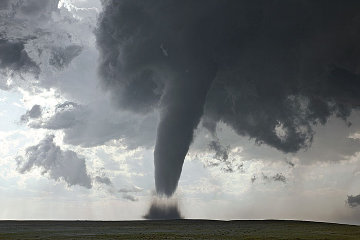 Tornado on Great Plains