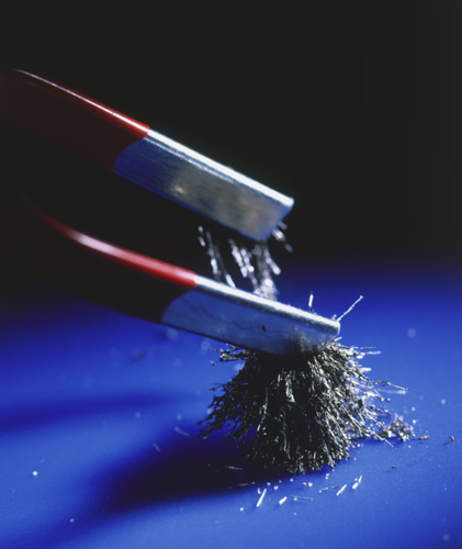 Magnet & iron
