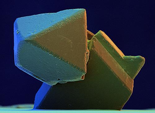 Microdiamond, SEM