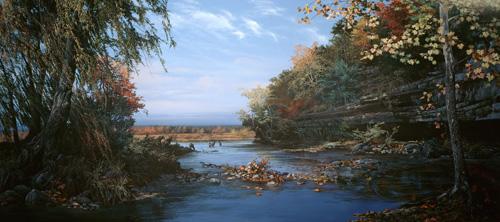 Pre-settlement River Valley
