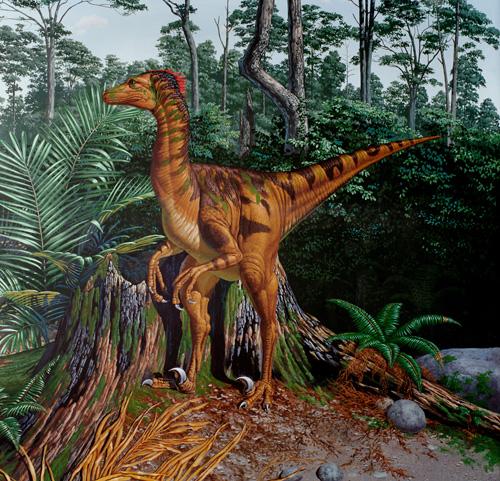 Fleet-footed Dinosaur
