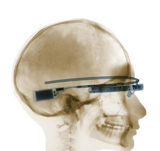 Google Glass X-ray