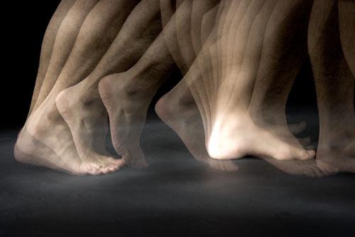 Walking Feet, Stroboscopic Image