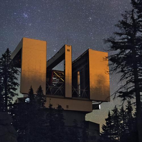 Large Binocular Telescope, AZ