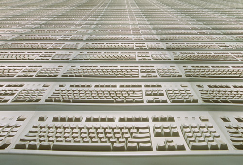 Infinite keyboards