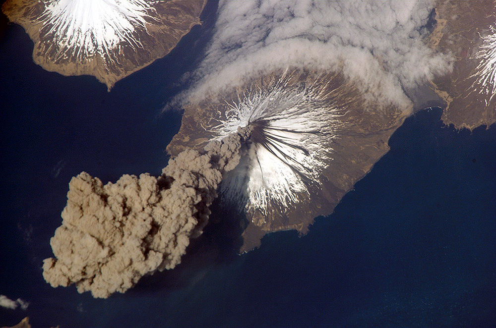 Volcano Ash Plume