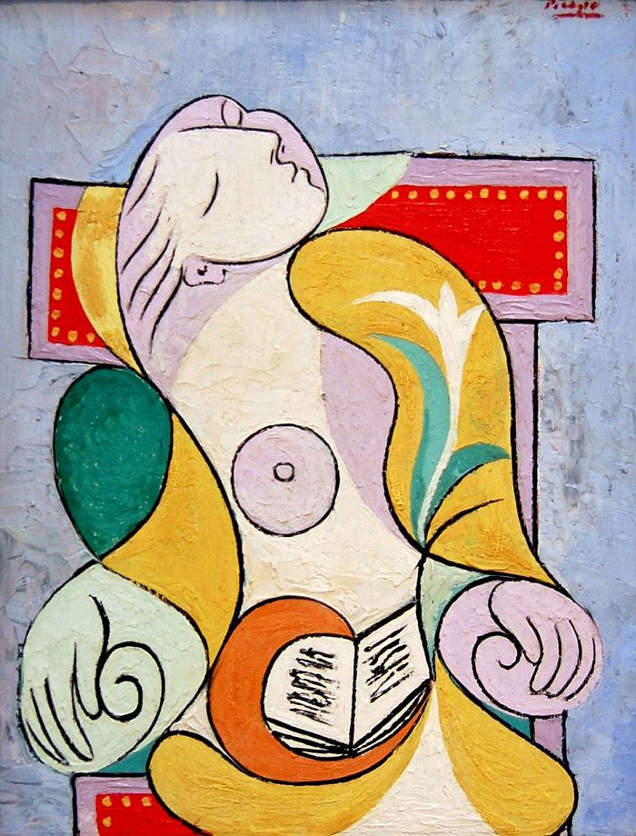 Pablo Picasso,  La Lecture,  1932, Oil on canvas