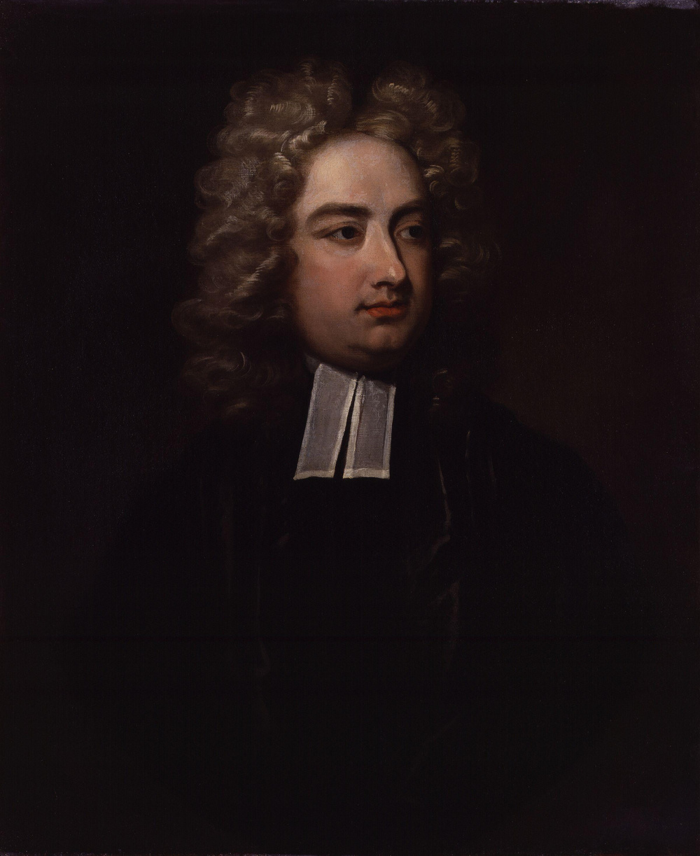 Charles Jervas, Jonathan Swift, 1710, Oil on canvas