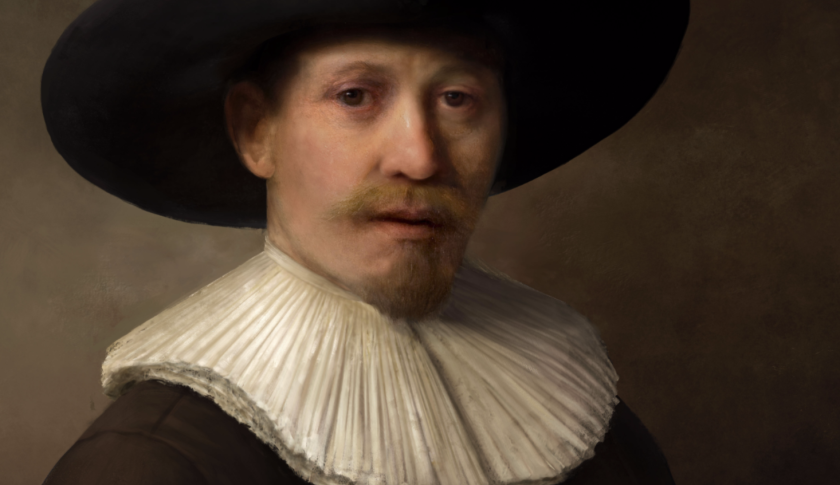 Detail of The Next Rembrandt