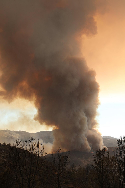 DeTwiler Fire, Mariposa CA, 2017