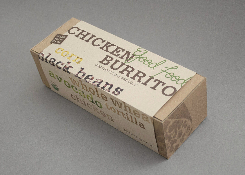 Final Product: Burrito Box.