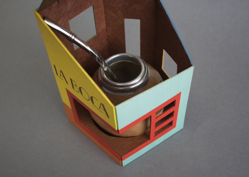 Inside view of the package with gourd.