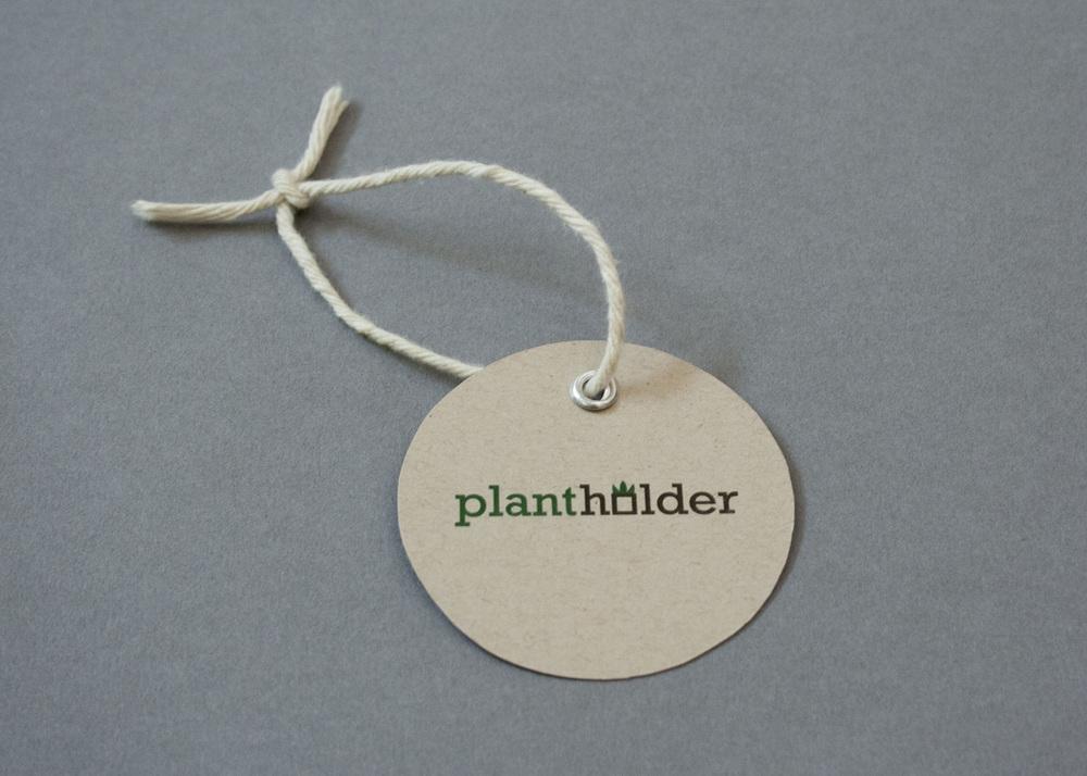 Plantholder logo and label.