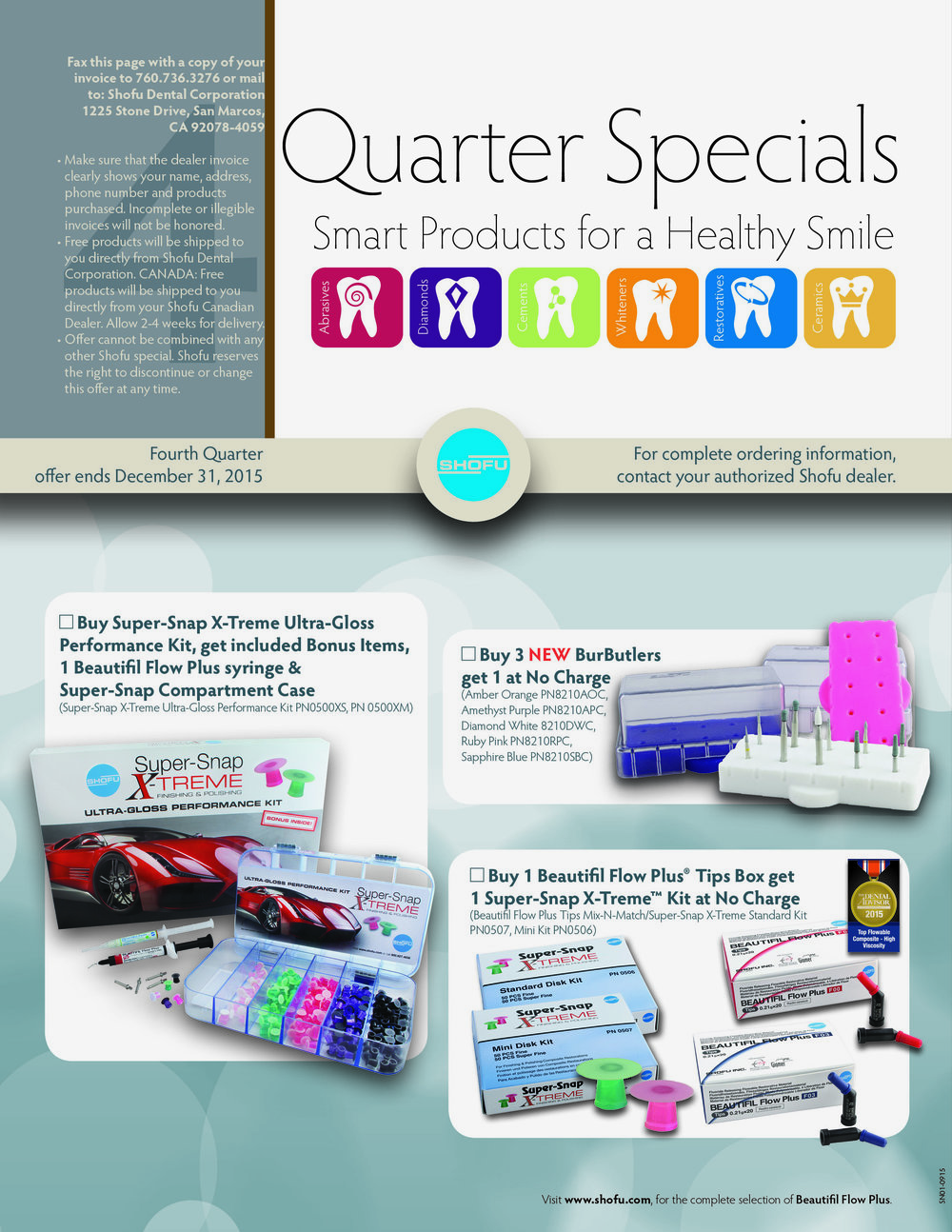 Special offers and contacts (BACK)