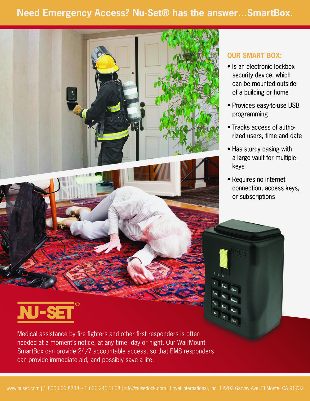 Full page ad for Nu-Set's SmartBox