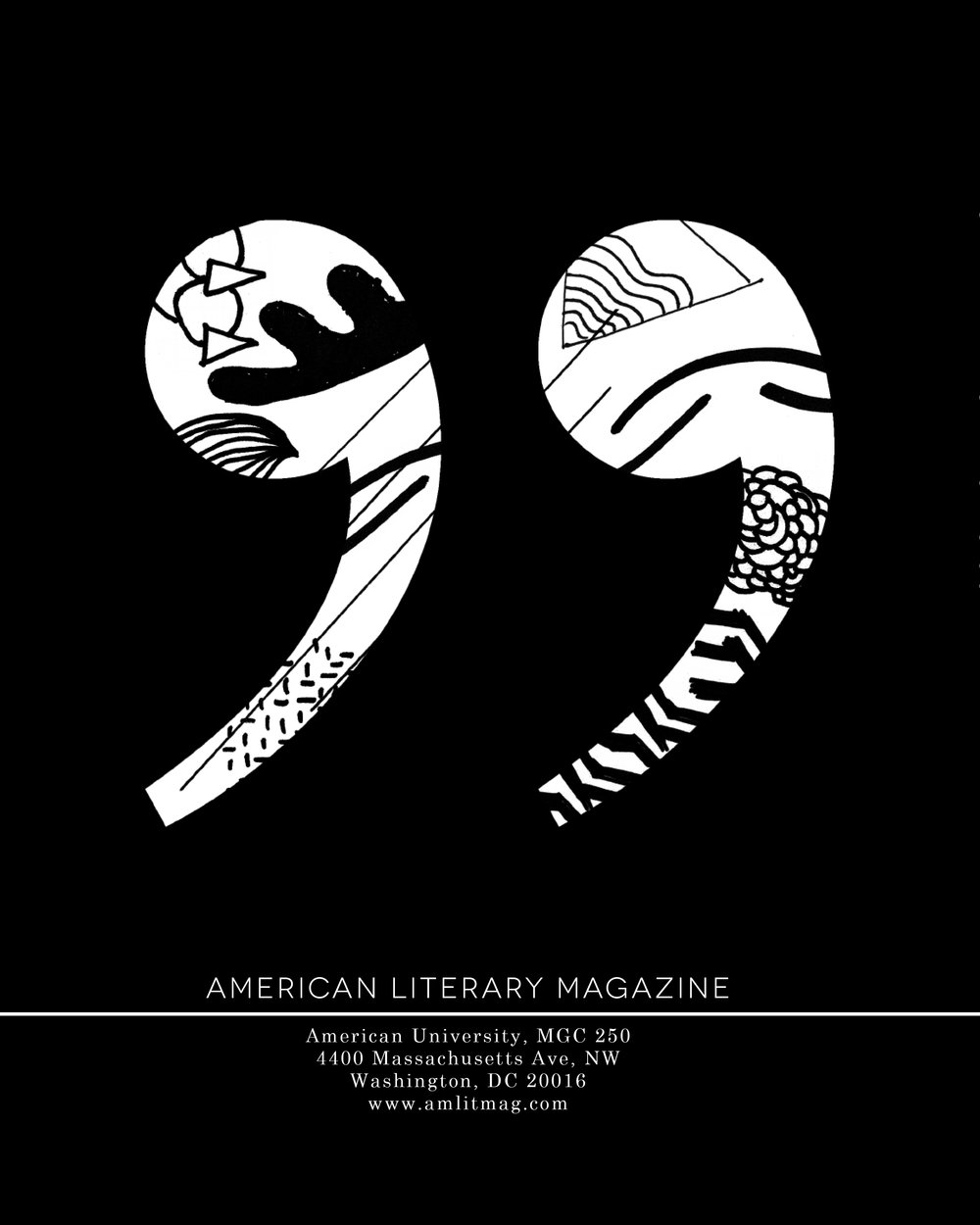 American Literary Magazine  |  Spring 2013 Back Cover