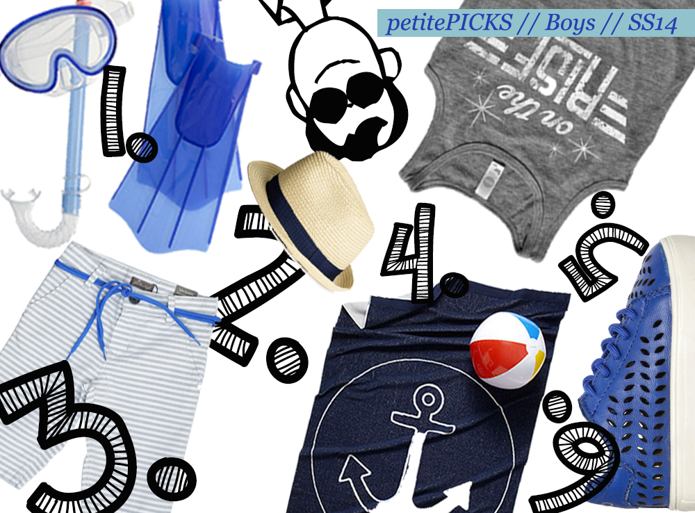 BOYS SS14 TREND GUIDE