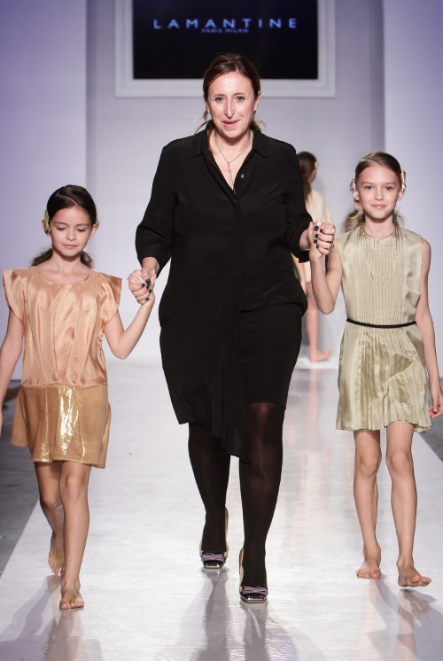 Designer Sabrina Vedeo walks finale at petitePARADE.