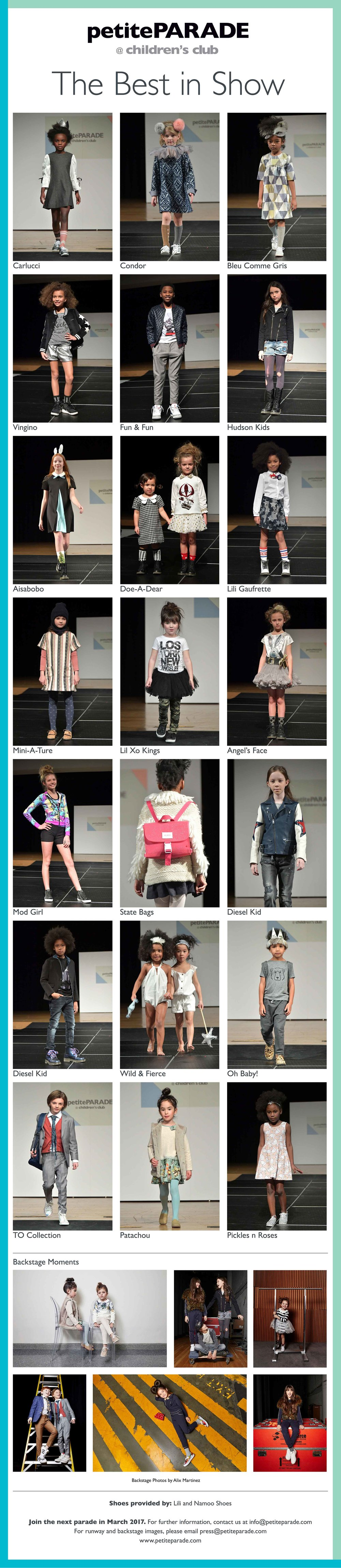 Merging two of the top platforms in the Children's Fashion Industry, petitePARADE and Children's Club partnered to present a Multi-Brand Showcase with over 20 exhibitors at the Jacob Javits Center.