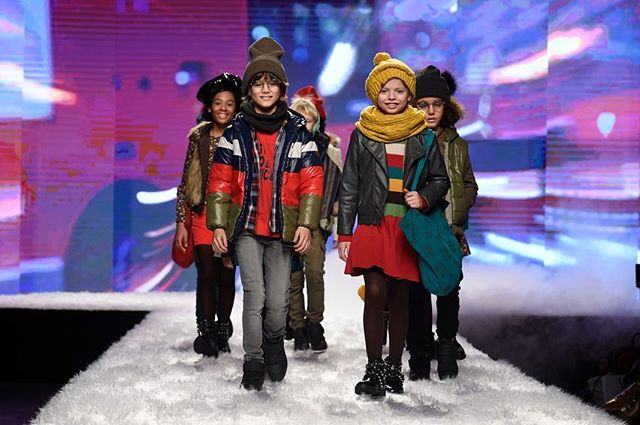 Fashion from Spain hit the runway today at #PittiBimbo for its 88th edition of the shows @pittimmagine thanks for another incredible runway  #kidsfashion #runway #spain #FW19