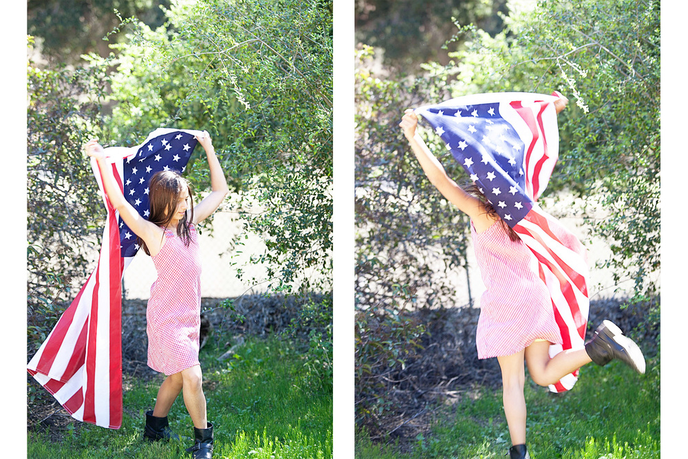 american girl dancing with flag.jpg