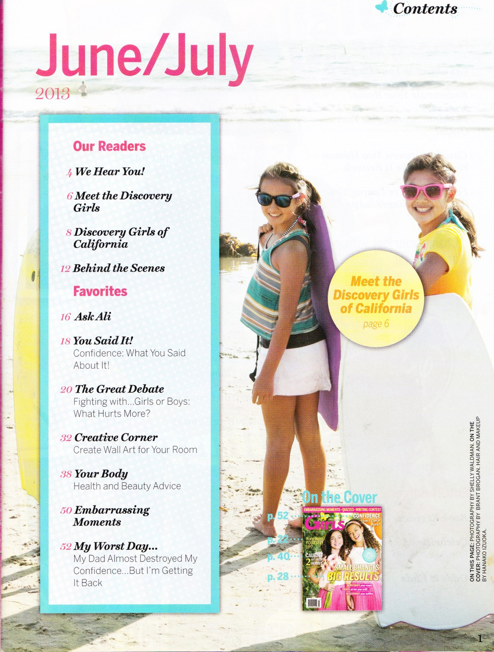 Discovery Girls June-july 2013 toc.jpg