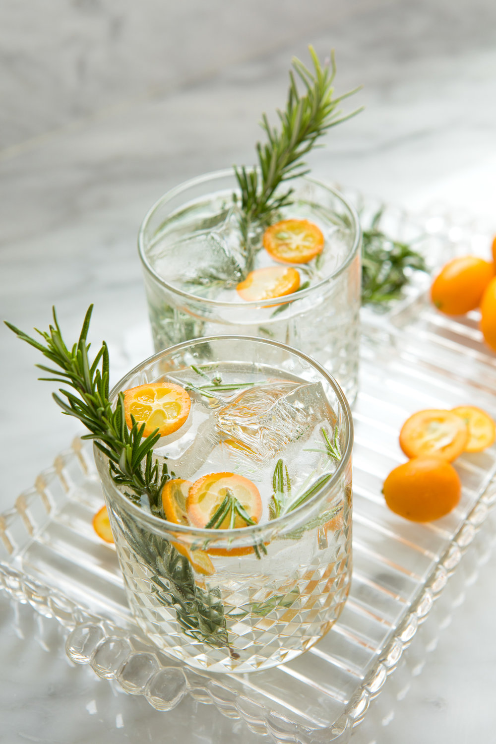 kumquat rosemary cocktail