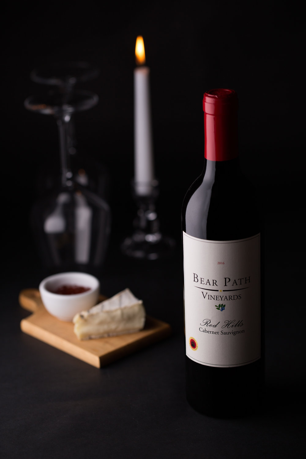 Napa Red Wine Bottle with candle.jpg