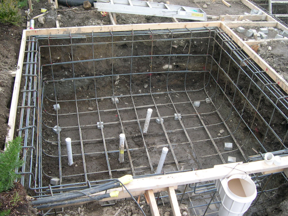 Installation of Rebar