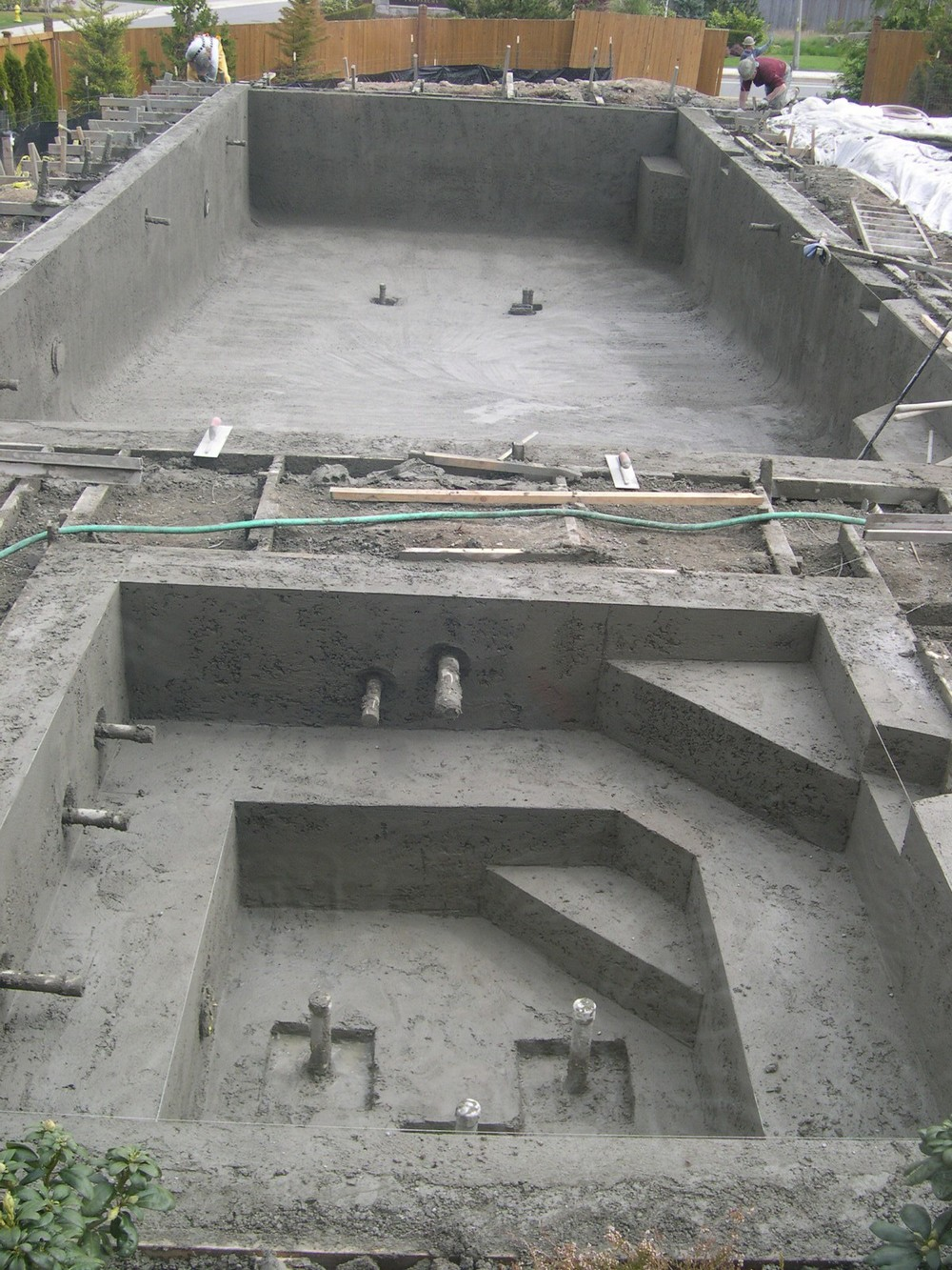 Completed Shotcrete