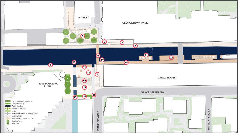 The Market Plazas - Option B