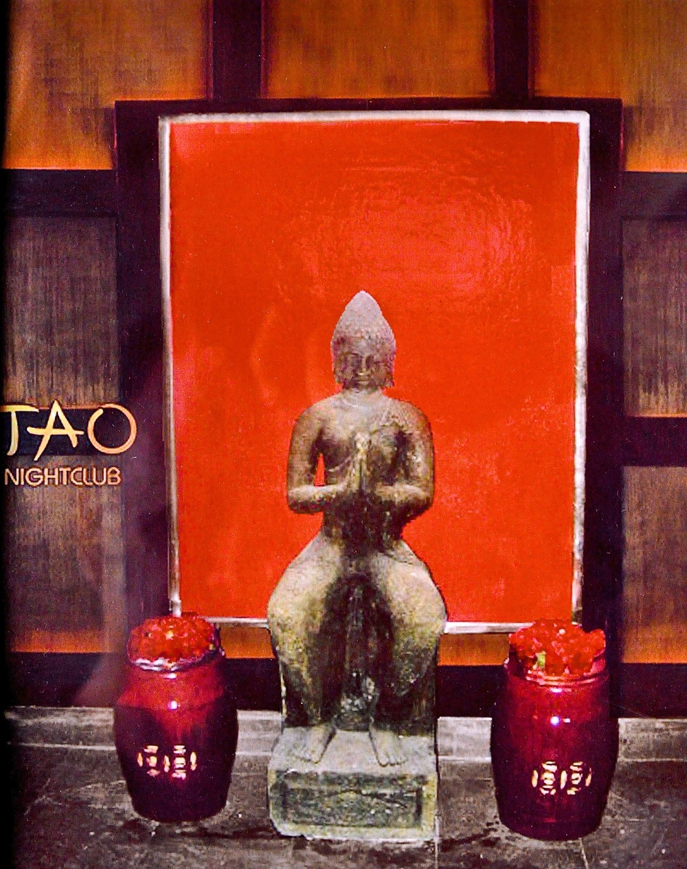 Tao Nightclub. Las Vegas, Nevada