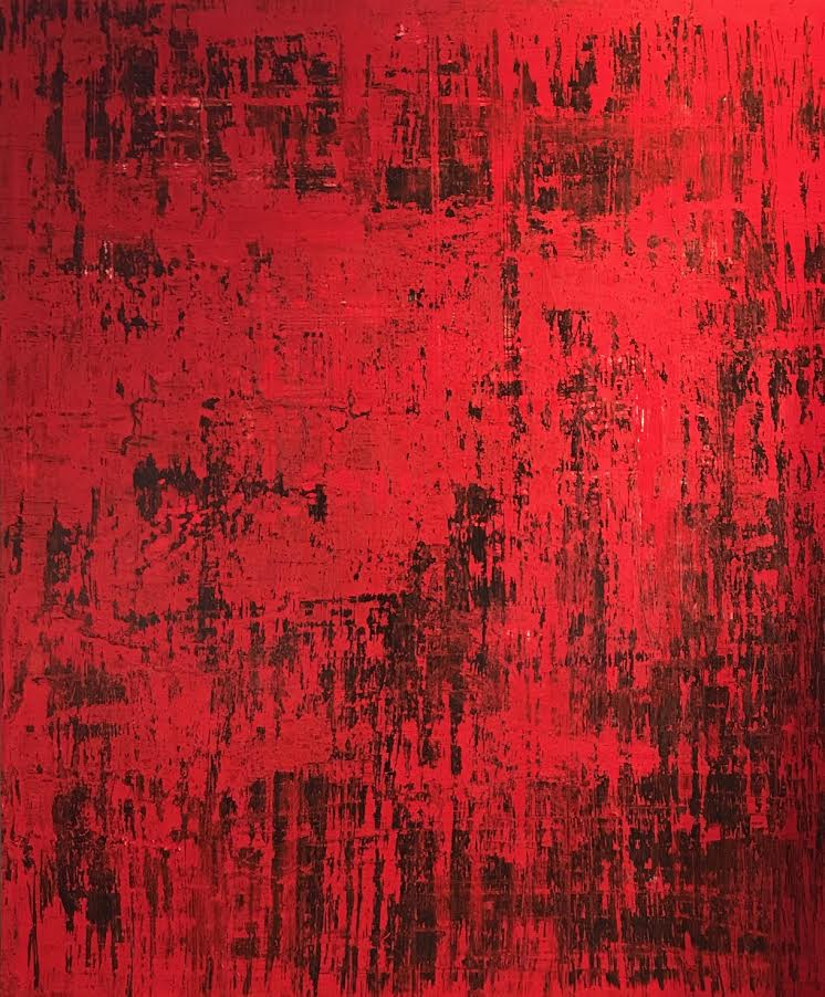 """Red River"".        72"" x 60"""