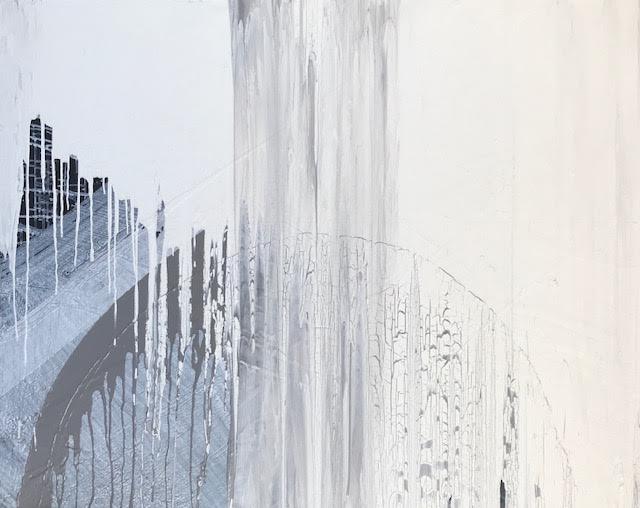 """""""Snow in Manhattan"""".    48"""" x 72"""""""