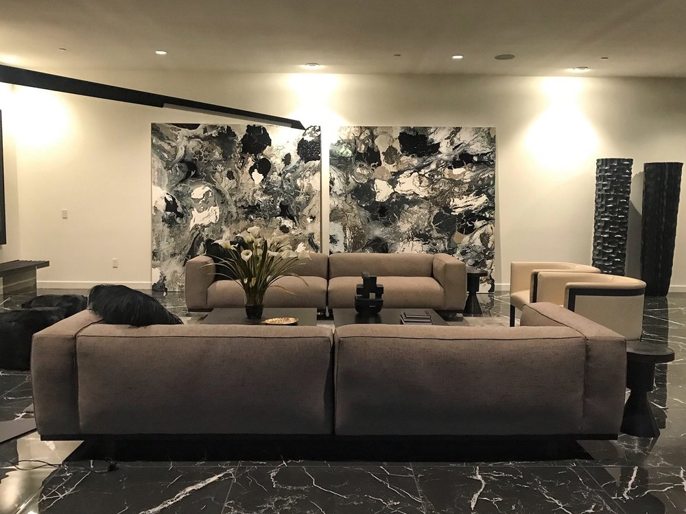 Installations - Browse Bradford Stewart's artwork on display in some of the most exquisite interiors.