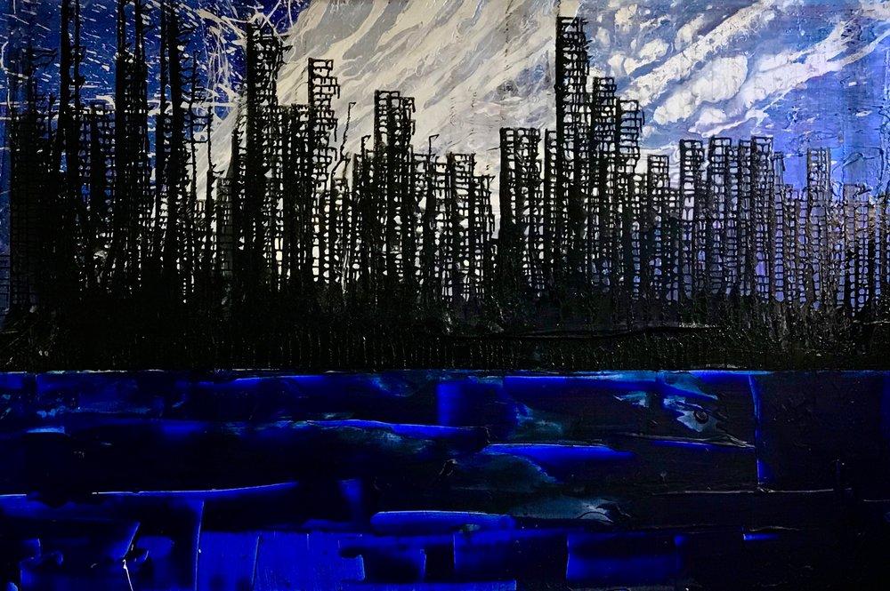 "Copy of "" Cityscape Series Manhattan"""